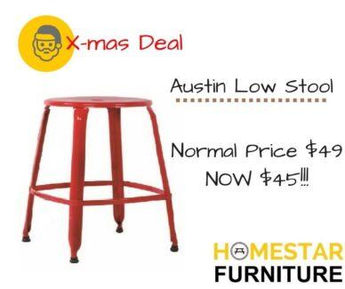 Austin Low Stool Normal Retail Price $79 Now $45