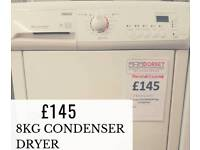 Reconditioned condenser tumble dryers