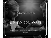End of Summer Sale - Up to 20% Off Boxing Training Limited Slots Available!