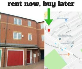 Rent Now Buy Later - 3 Bed Townhouse Derby