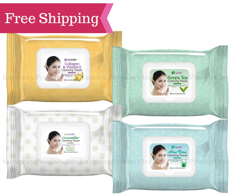 green tea cleansing tissues