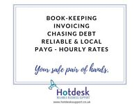 Reliable & fast book-keeping service £25 p/h - local & PAYG