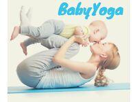 Baby yoga, Thursdays, Lanchester
