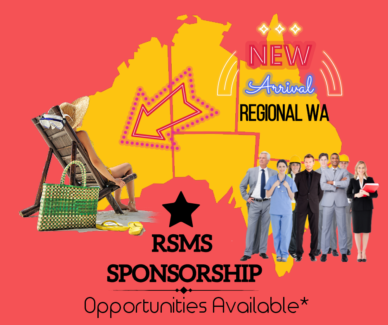 ★RSMS OPPORTUNITIES AVAILABLE IN REGIONAL WA★