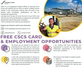 FREE construction (CSCS) course