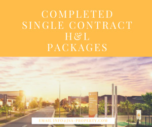 COMPLETED single contract property in Yarrabilba, QLD