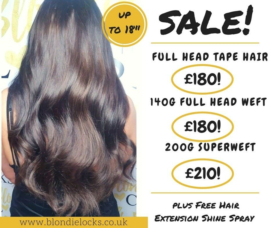 Sale Express Hair Extensions Transform Your Hair In 60 Mins Tape