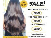 *SALE* EXPRESS HAIR EXTENSIONS. Transform your hair in 60 mins! Luxury hair extensions