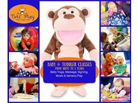 Tots Play Coventry-Baby & Toddler Play Programme