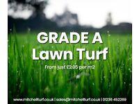 Lawn Turf - A Grade Garden Turf, Scotland