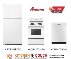 Amana White Cheap Appliance Deal (JA402)