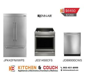 Jenn Air Stainless Steel Appliance Package | Combo Deal (JA401)