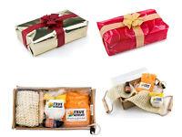 GIFT SET - Aromatherapy Bath bomb & Salts, Essential oil, Back Scrub - Christmas Birthday