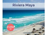 SAVE! Cancellation Deal! ALL INCLUSIVE PACKAGE HOLIDAY! London to Cancun