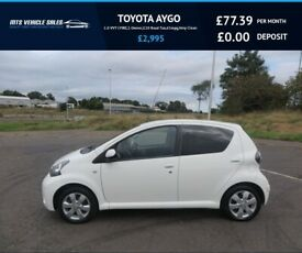 image for TOYOTA AYGO 1.0 VVT-I FIRE,2012,1 Owner,£20 Road Tax,65mpg,Group 2 Insurance,Very Clean Car