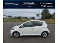 TOYOTA AYGO 1.0 VVT-I FIRE,2012,1 Owner,£20 Road Tax,65mpg,Group 2 Insurance,Very Clean Car