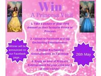 Princess Visit Competition!