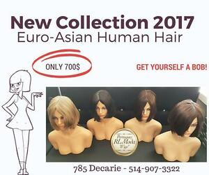 Human Hair Wigs - Perruques cheveux humains