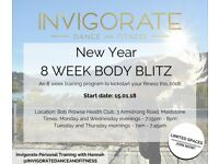 INVIGORATE'S New Year 8 Week Body Blitz