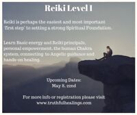 Reiki Level I: Self Balance and Healing