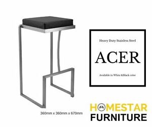 Acer Heavy Duty Barstool-Stainless Steel Sturdy Sydney City Inner Sydney Preview
