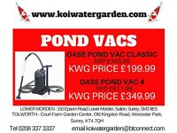 Pond Vacs Available