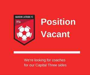 Bardon Latrobe Football seeking coaches for Senior Men Capital 3 Bardon Brisbane North West Preview