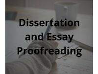Dissertation and Essay Proofreading Service ***Student Discounted Price***