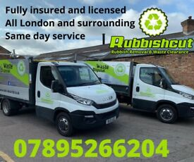 All North London RUBBISH REMOVAL - SAME DAY - RELIABLE AND AFFORDABLE LOCAL WASTE CLEARANCE COMPANY
