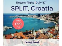 Return Flight to Split, CROATIA only £99rtn from Edinburgh