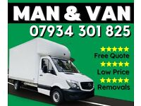 MAN AND VAN REMOVALS 07 934 301 825
