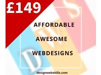 £149 Web Design | Wordpress | Ecommerce | SEO | Logo Design
