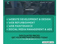 Website Design and Development *Shopify or Wix* (Inc E Commerce)