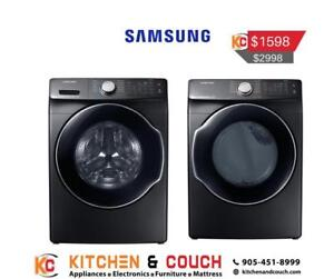 Online Special Deal on Samsung Washer and Dryer(SAM908)
