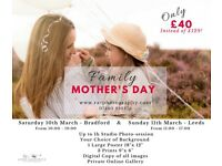 Family Mother Day Photography Only £40!