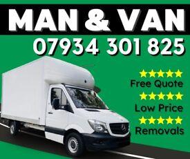 MAN AND VAN HIRE 07 934 301 825