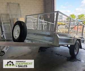 7x5 & 8x5 BOX TRAILERS in STOCK!! Currajong Townsville City Preview