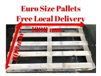 Lightweight Good Quality Non EPAL/EUR Euro Sized Pallets - Free Local Delivery