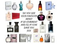 Quality perfumes aftershaves