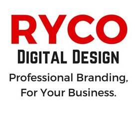 RYCO Digital Design- Logos,Websites, Social Media, Marketing Materials, Business Branding & More