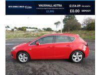 VAUXHALL ASTRA 2.0 SRI CDTi,2015,62mpg,£30 Road Tax,Bluetooth,Cruise,Air Con,Full Vauxhall History