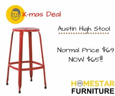 Austin HIGH Stool X-mas Sale Original $99 Now $65