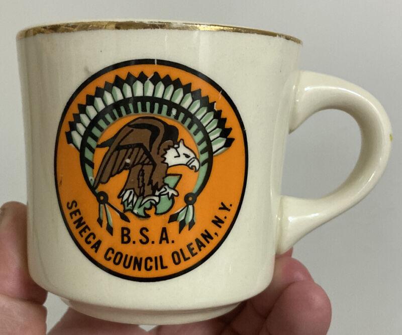 RARE Seneca Council B.S.A. Boy Scouts Olean, N.Y. New York #750 Coffee Mug Cup