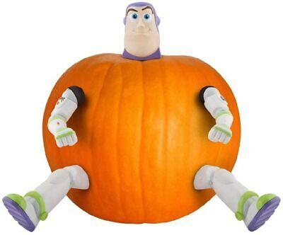 Disney Pixar Toy Story Buzz Lightyear Halloween Pumpkin cake craft Push In Kit