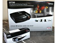 Optoma hd 3d projector