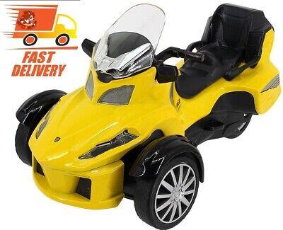 Best Ride on Toy 3 Wheel Trike Chopper Motorcycle for Kids Battery
