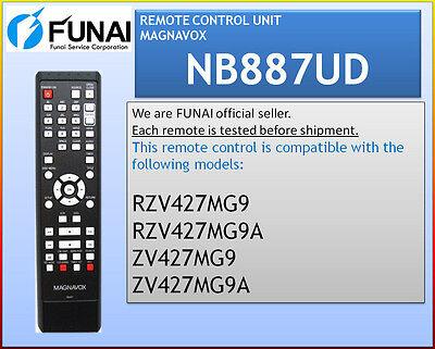 Magnavox Remote Nb887ud Zv427mg9a Zv427mg9b Zv427mg9 Mdr1...
