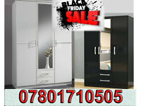 wardrobes wardrobe brand new robes tall boy bedroom furniture fast delivery 050