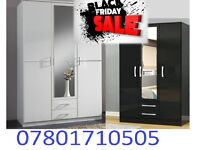 wardrobe brand new robes tall boy bedroom furniture fast delivery 4500