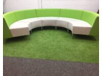 Guialma modular curved reception seating cheap harlow London chelmsford
